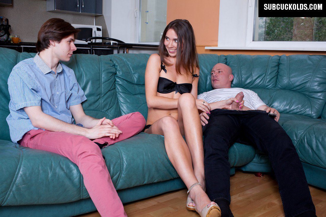 humiliation wife in front of femdom